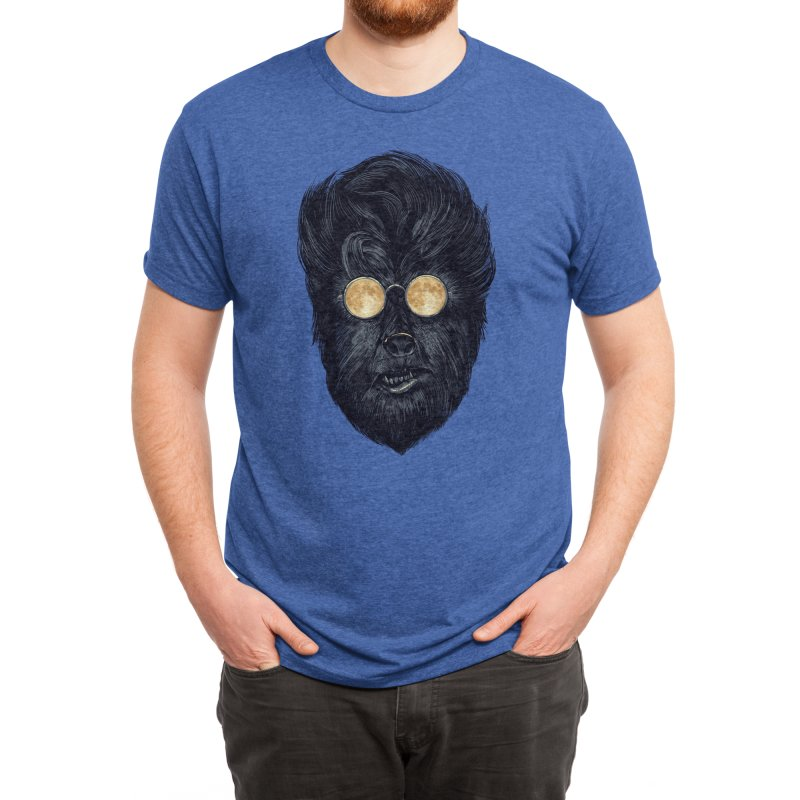 Moon Glasses Men's T-Shirt by Threadless Artist Shop