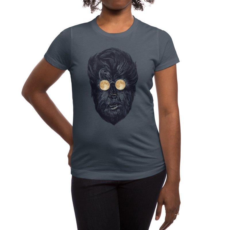 Moon Glasses Women's T-Shirt by Threadless Artist Shop