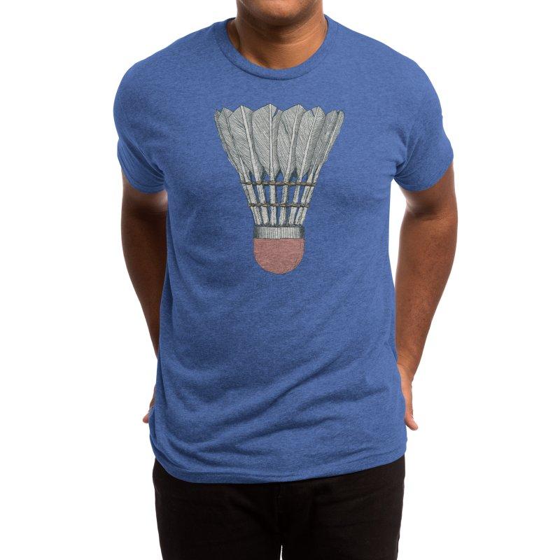 Birdy: Threadless Guys Tri-Blend Tee Men's T-Shirt by Threadless Artist Shop