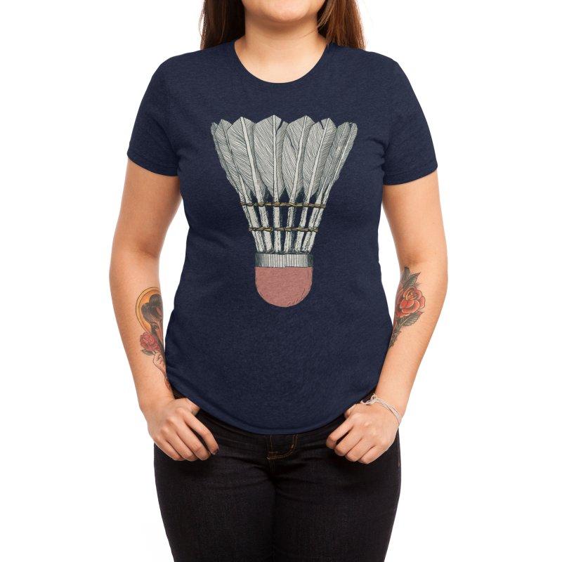 Birdy: Threadless Guys Tri-Blend Tee Women's T-Shirt by Threadless Artist Shop