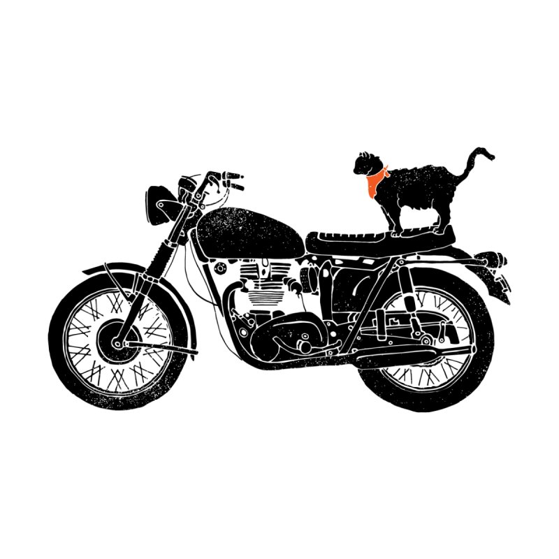 Purrfect Roadtrip... Home Throw Pillow by Threadless Artist Shop