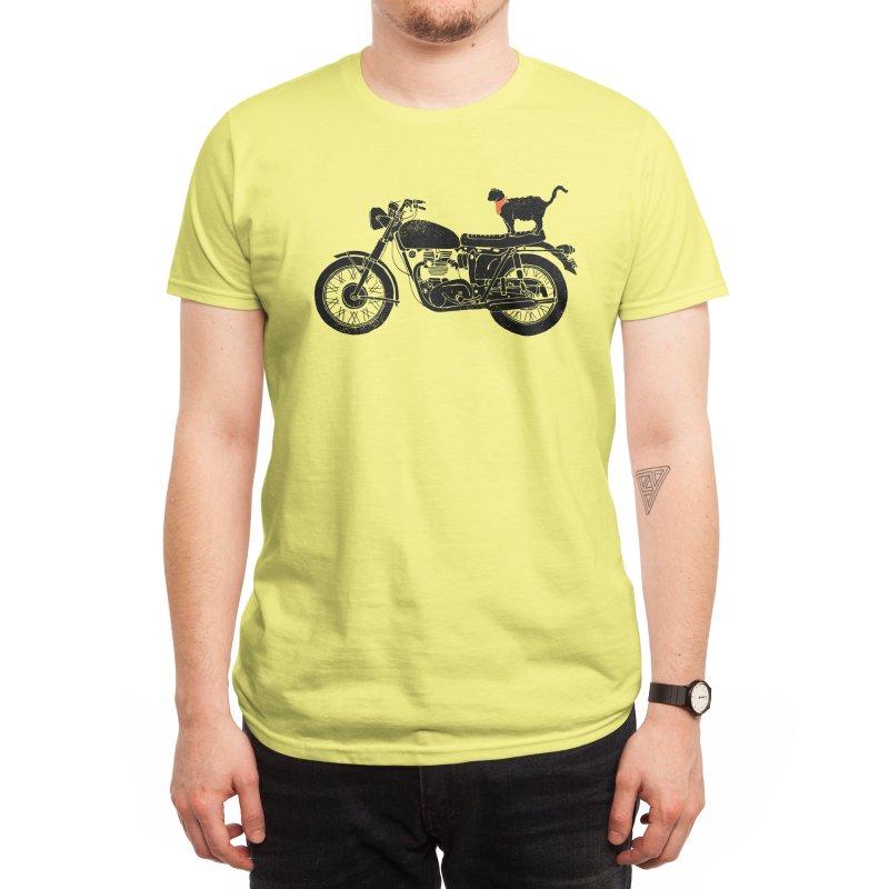 Purrfect Roadtrip... Men's T-Shirt by Threadless Artist Shop