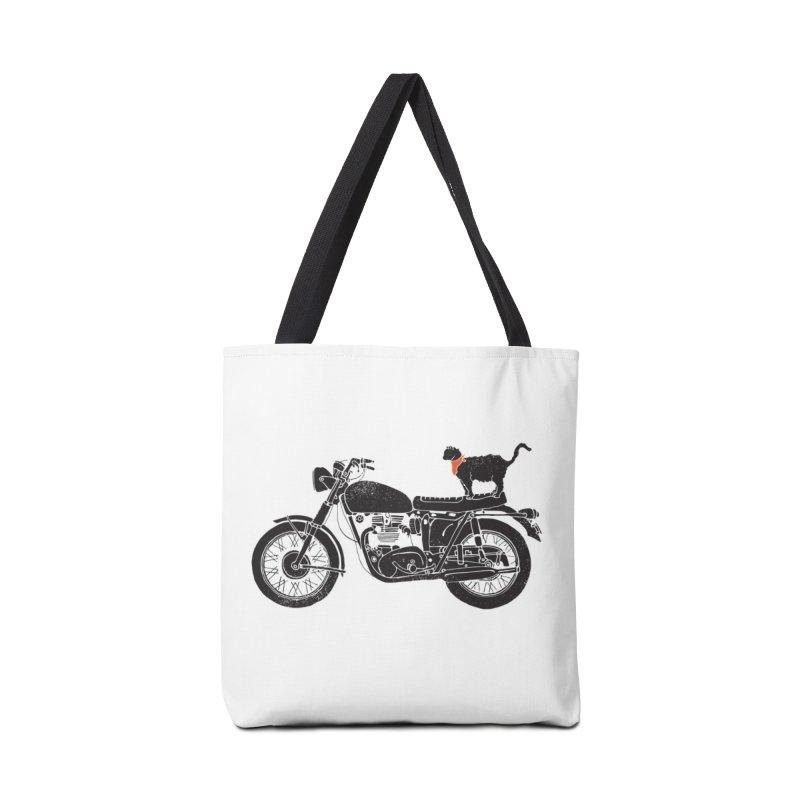 Purrfect Roadtrip... Accessories Bag by Threadless Artist Shop
