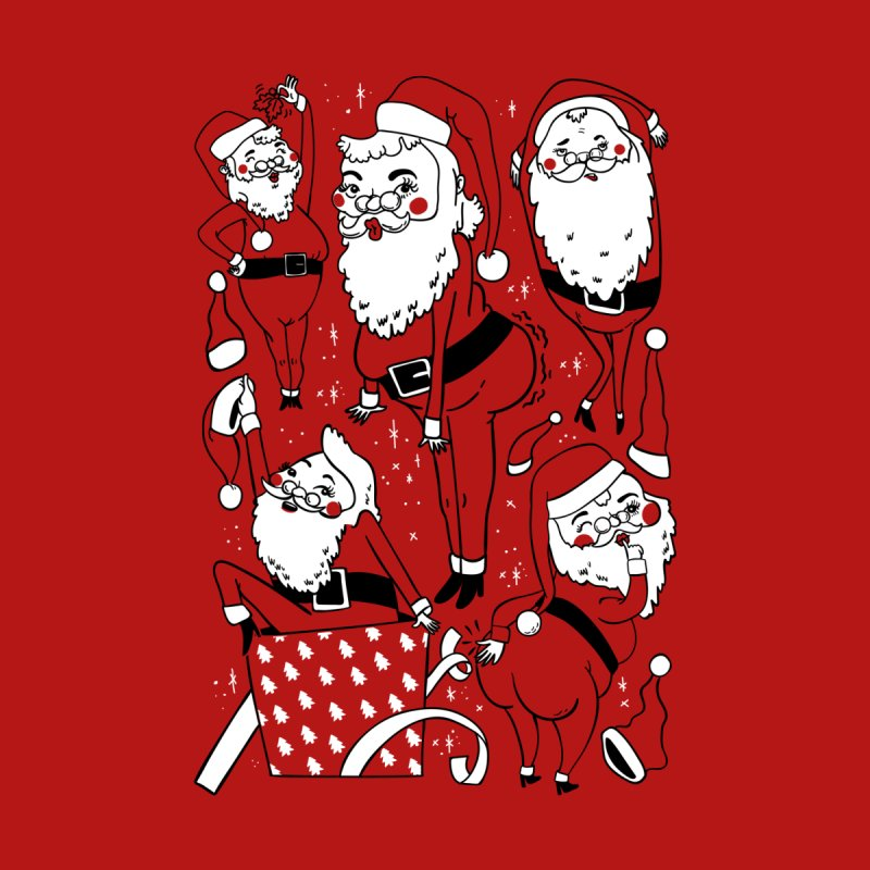 Sexy Santa Men's Sweatshirt by Threadless Artist Shop