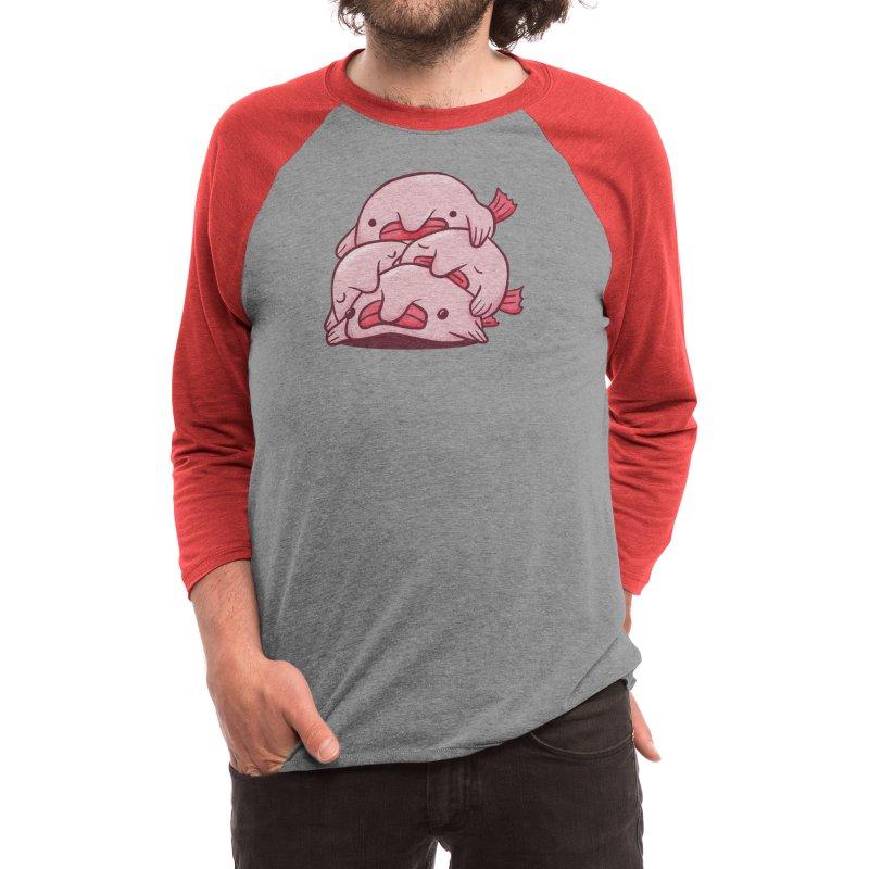 Blobfish Cuddle Party Men's Longsleeve T-Shirt by Threadless Artist Shop