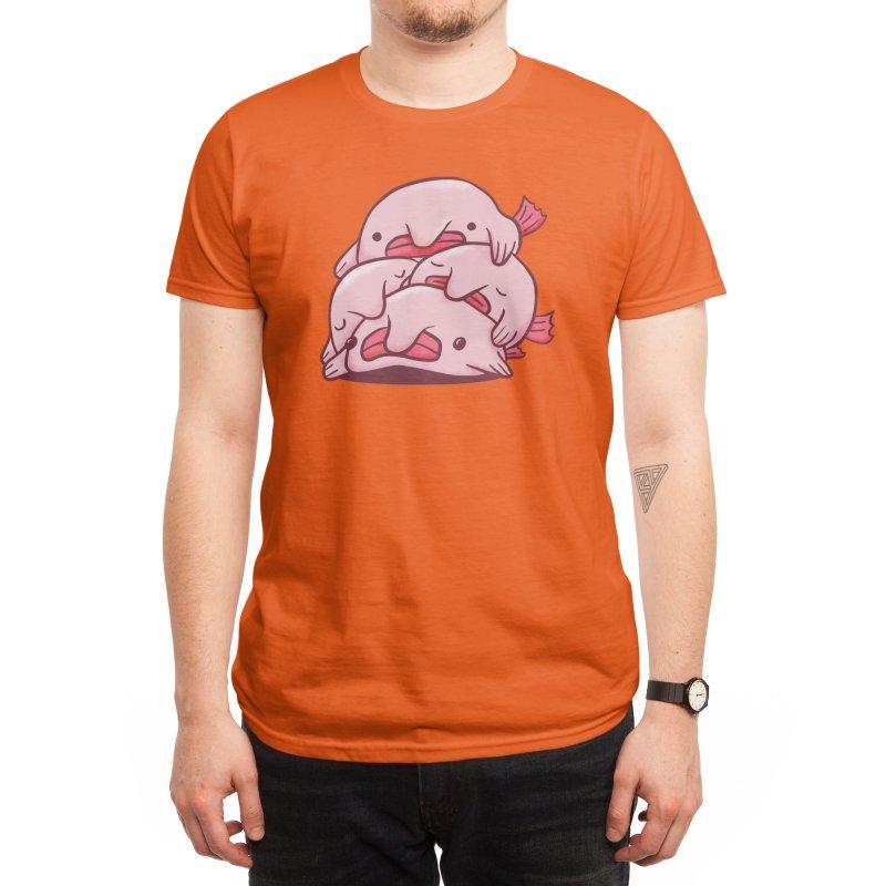 Blobfish Cuddle Party Men's T-Shirt by Threadless Artist Shop