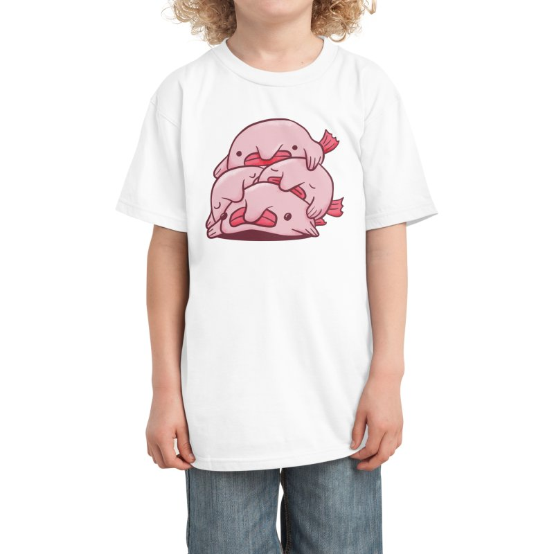 Blobfish Cuddle Party Kids T-Shirt by Threadless Artist Shop