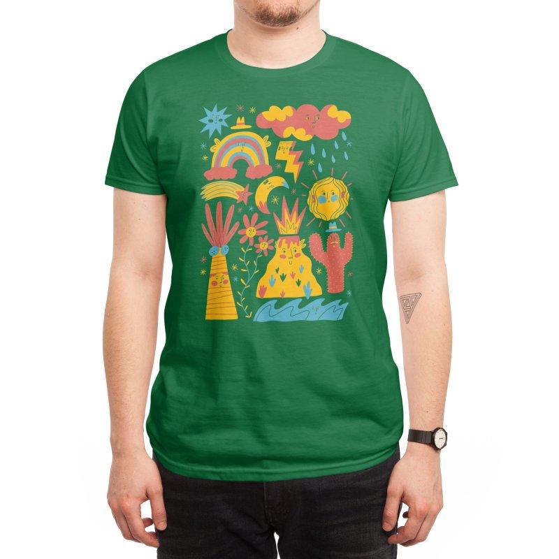 Friends Everywhere! Men's T-Shirt by Threadless Artist Shop