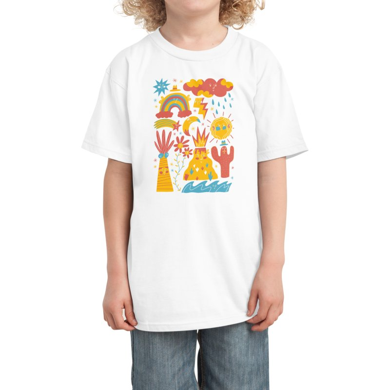 Friends Everywhere! Kids T-Shirt by Threadless Artist Shop