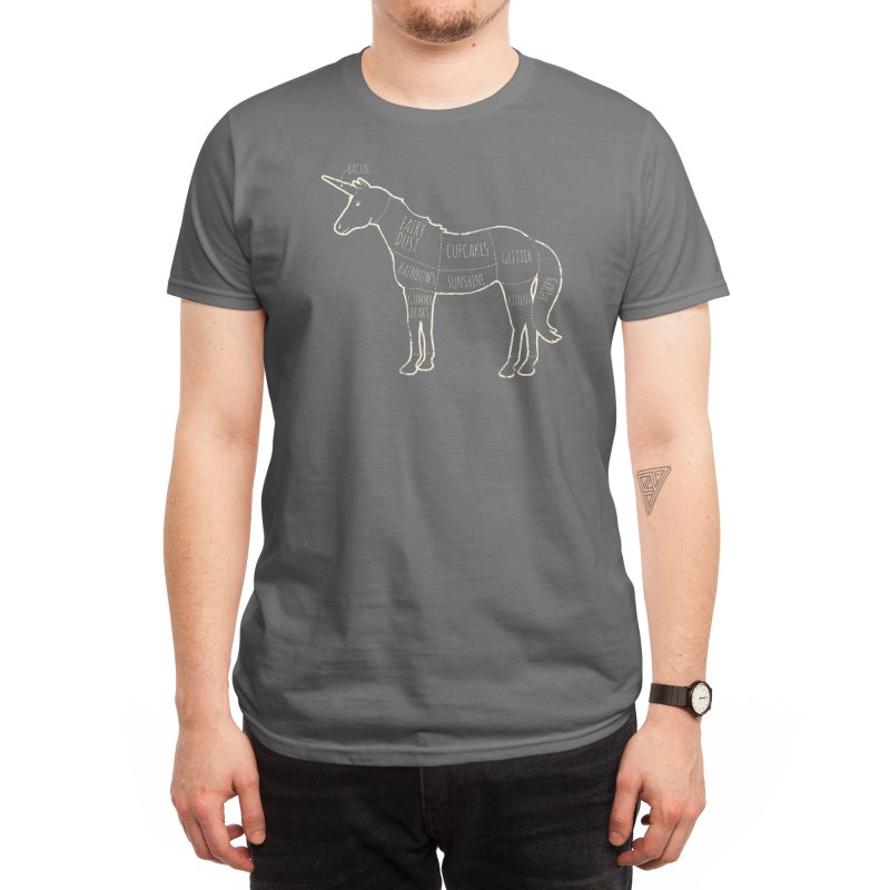 Where Happiness Comes From Men's T-Shirt by Threadless Artist Shop