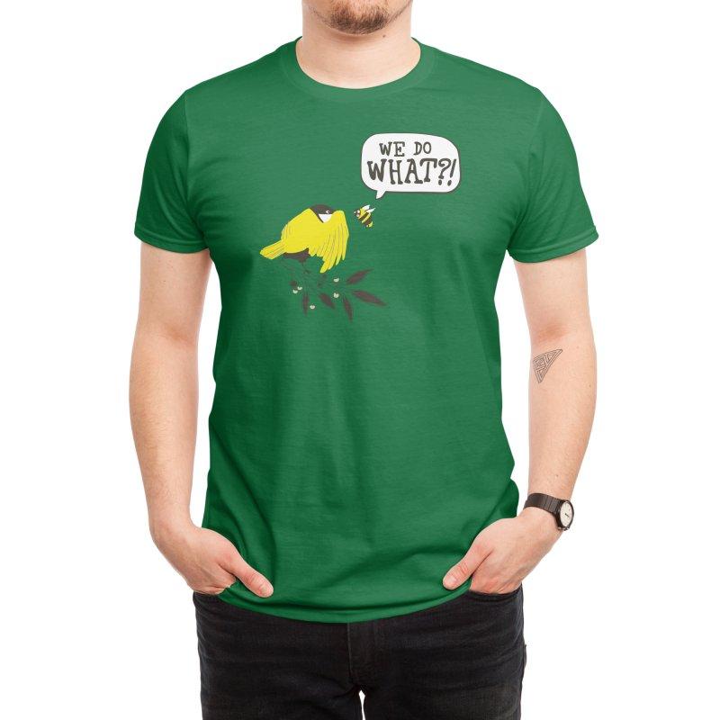 Birds & The Bees Men's T-Shirt by Threadless Artist Shop