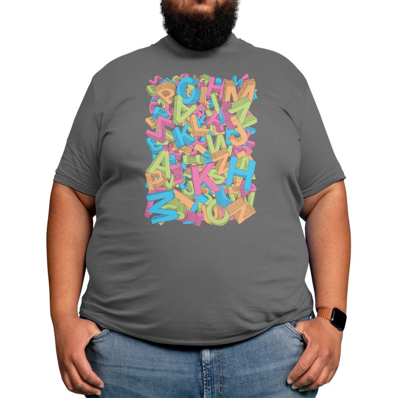 Now I Know My ABC's Men's T-Shirt by Threadless Artist Shop