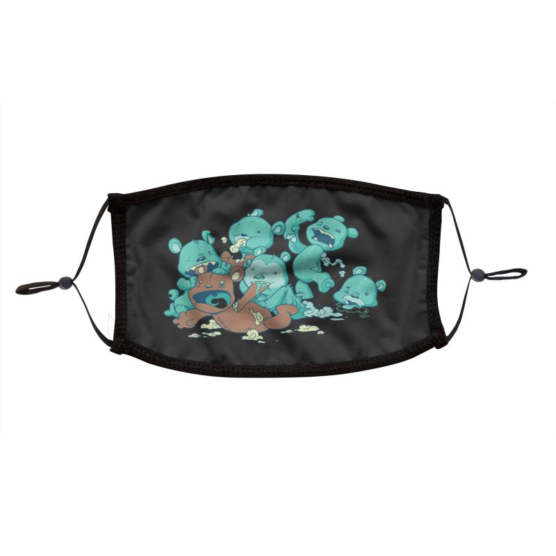 The Teddy Bear Picnic Accessories Face Mask by Threadless Artist Shop
