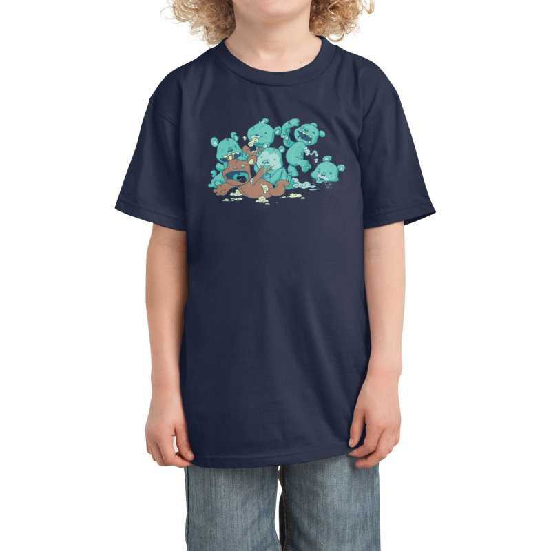 The Teddy Bear Picnic Kids T-Shirt by Threadless Artist Shop