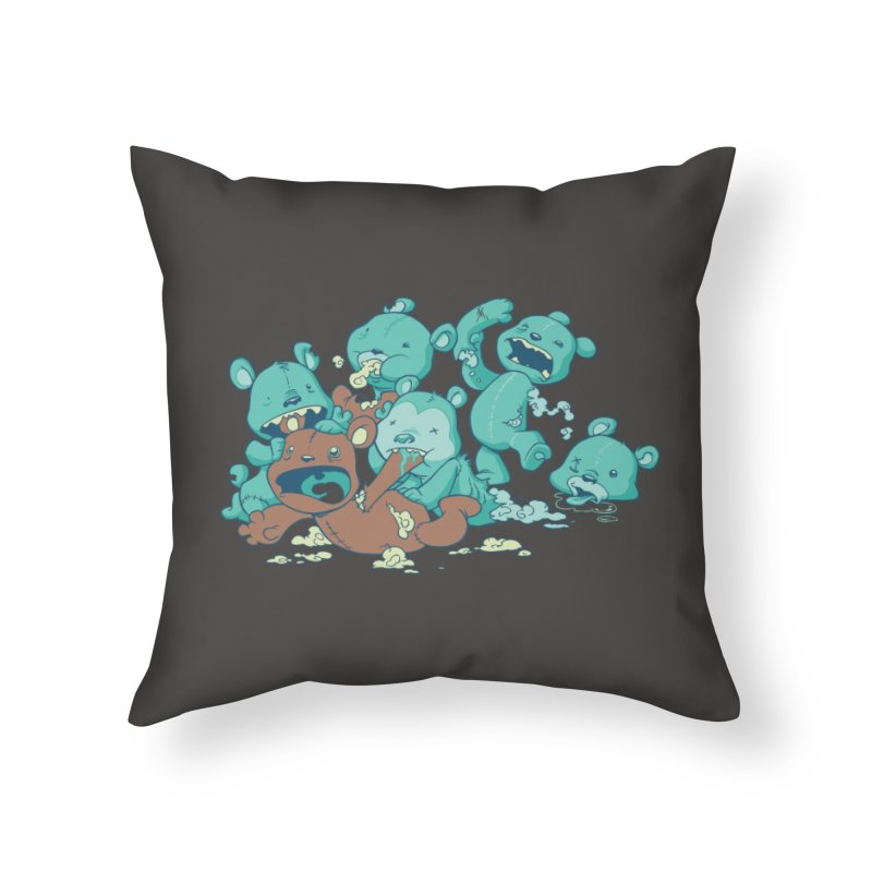 The Teddy Bear Picnic Home Throw Pillow by Threadless Artist Shop