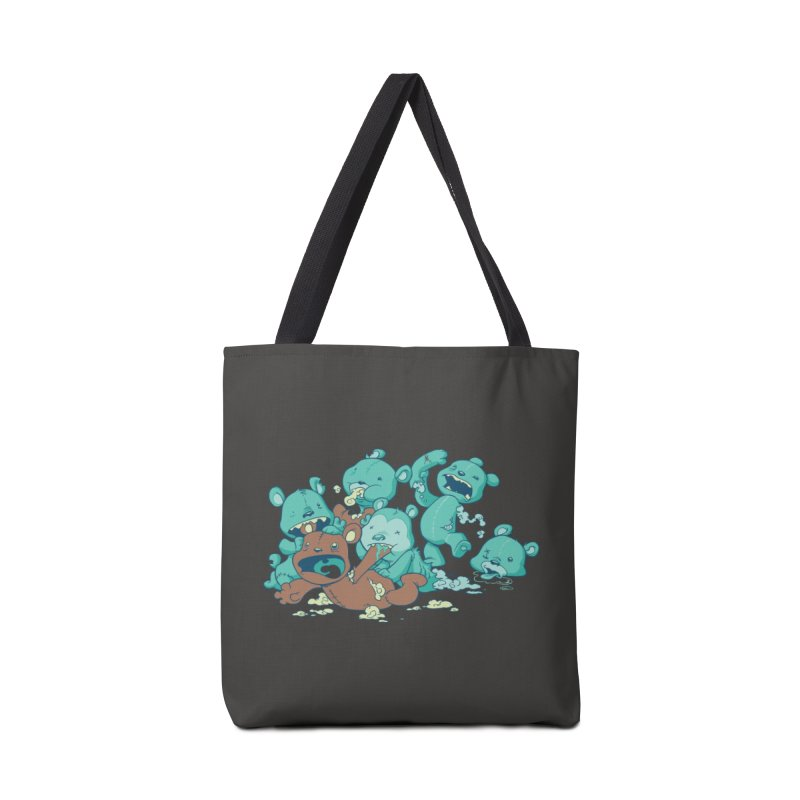 The Teddy Bear Picnic Accessories Bag by Threadless Artist Shop