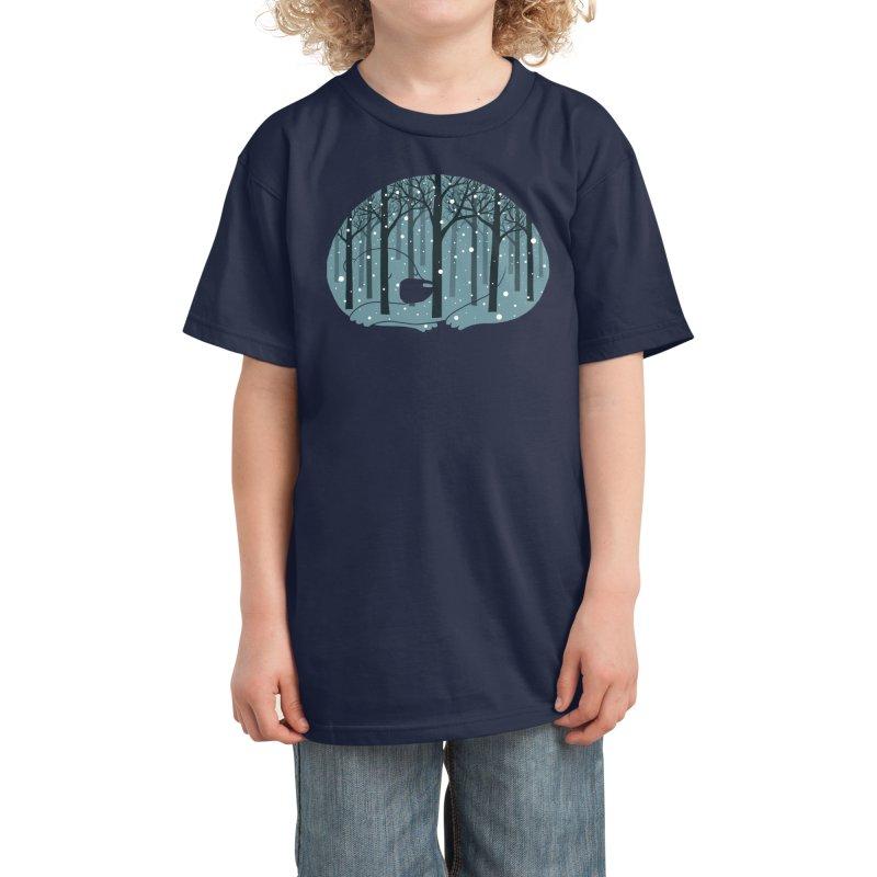 Hibearnation Kids T-Shirt by Threadless Artist Shop