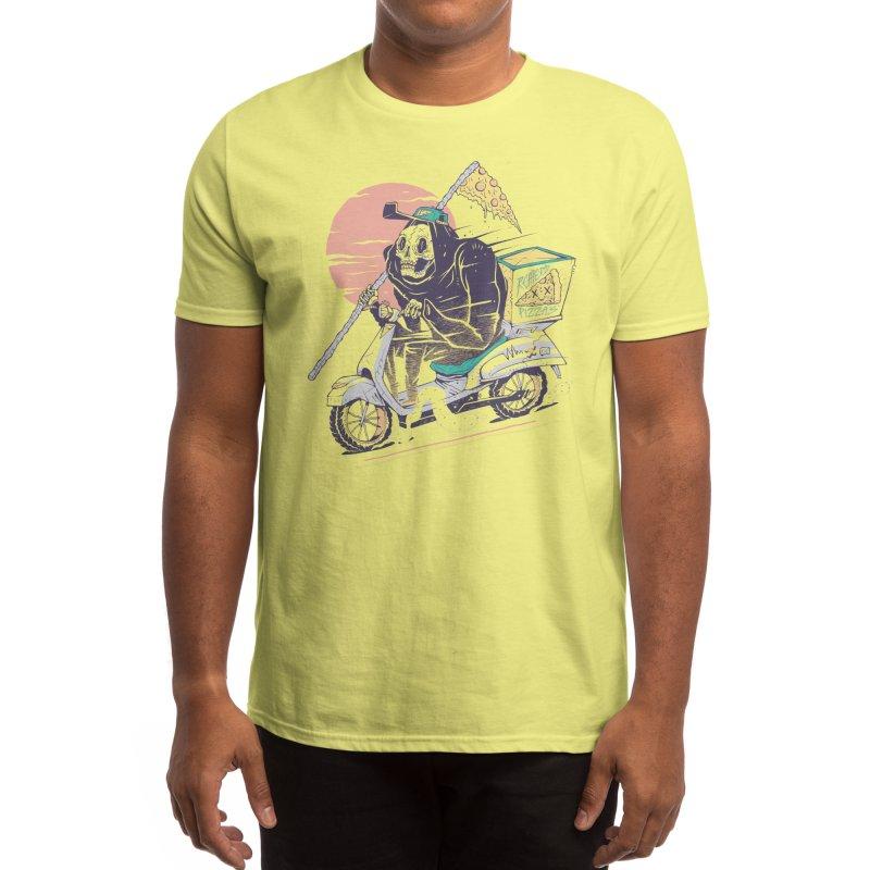 Reaper's Pizza Men's T-Shirt by Threadless Artist Shop