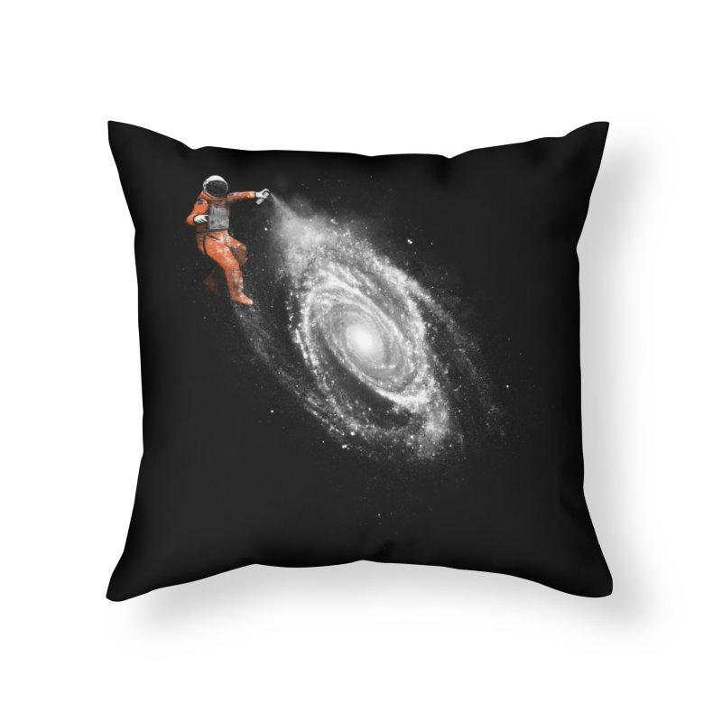 Space Art Home Throw Pillow by Threadless Artist Shop