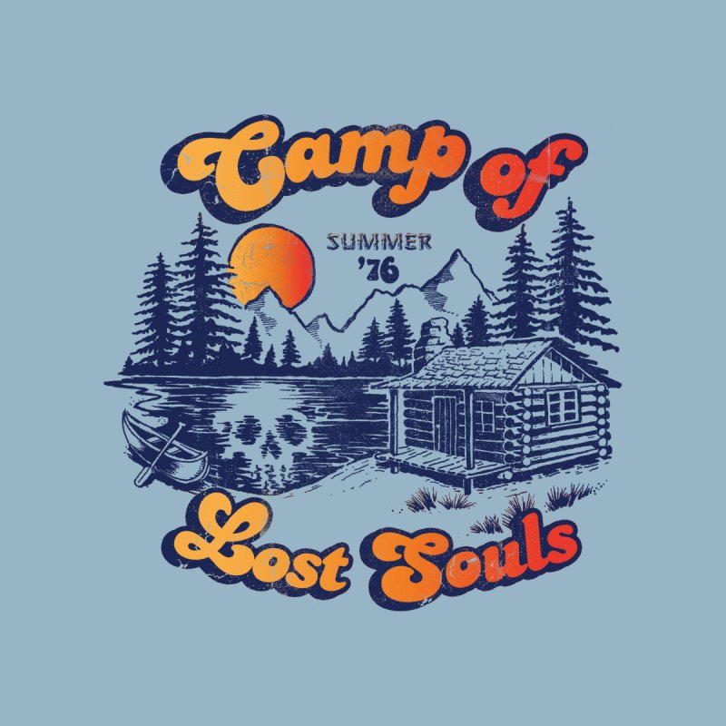 Camp of Lost Souls Men's T-Shirt by Threadless Artist Shop