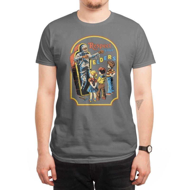Respect Your Elders Men's T-Shirt by Threadless Artist Shop