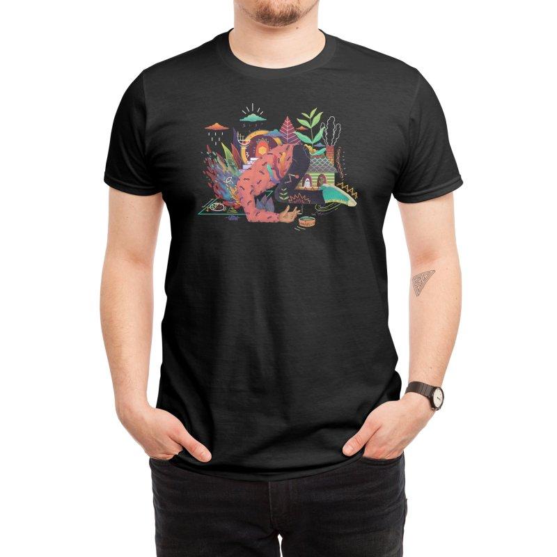 fire Men's T-Shirt by Threadless Artist Shop