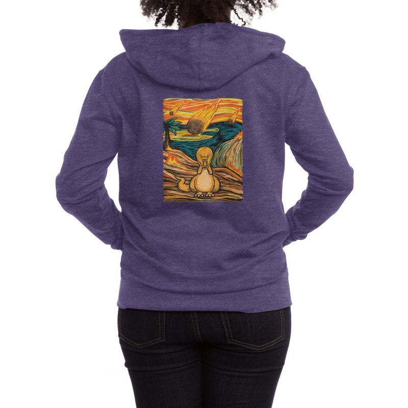 The Roar! Women's Zip-Up Hoody by Threadless Artist Shop