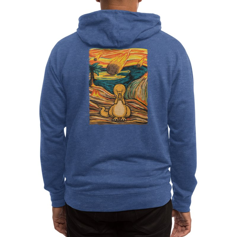 The Roar! Men's Zip-Up Hoody by Threadless Artist Shop