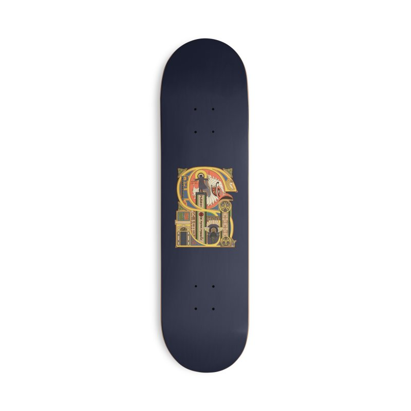 Legend of the Fall Accessories Skateboard by Threadless Artist Shop