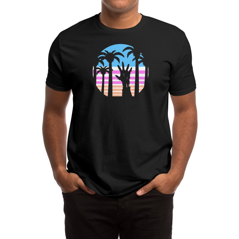 Trouble in Paradise Men's T-Shirt by Threadless Artist Shop