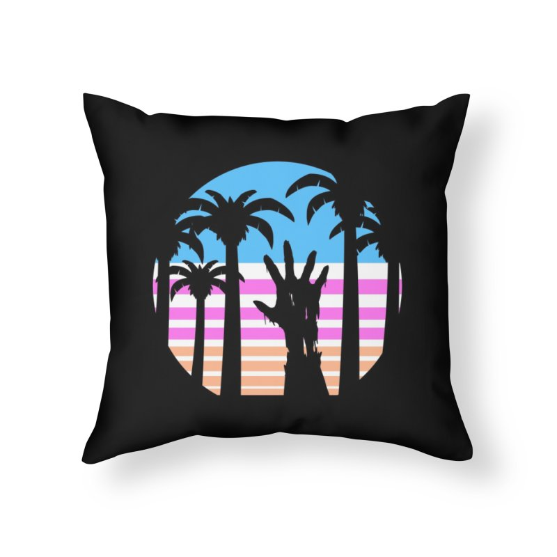 Trouble in Paradise Home Throw Pillow by Threadless Artist Shop