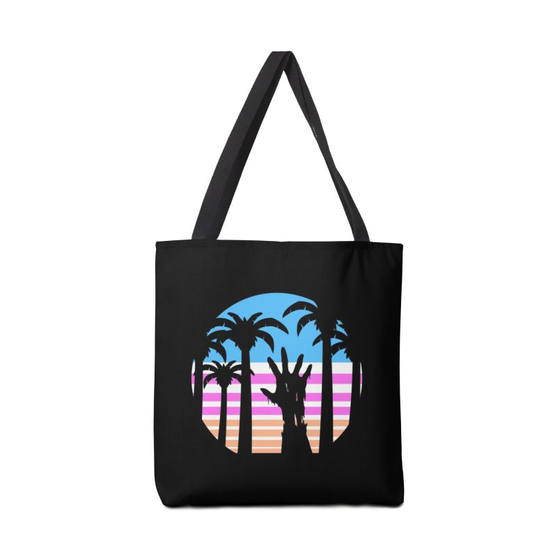 Trouble in Paradise Accessories Bag by Threadless Artist Shop