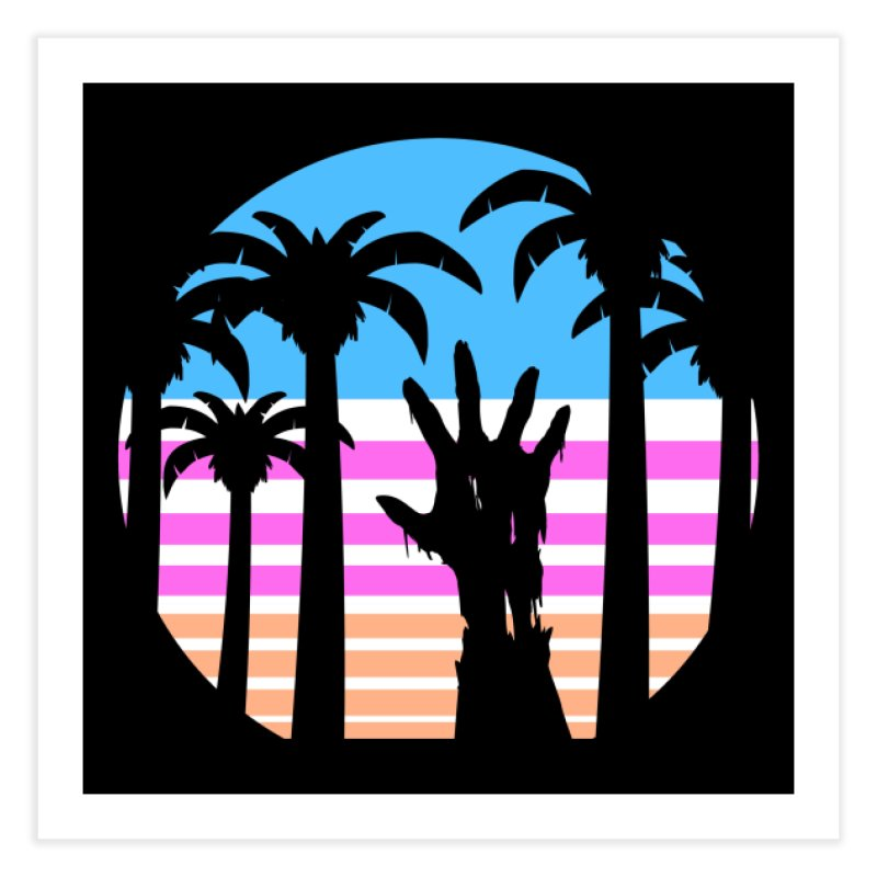 Trouble in Paradise Home Fine Art Print by Threadless Artist Shop