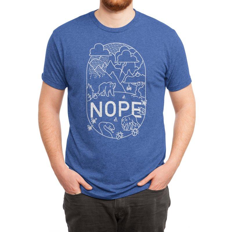 NOPE - Ivan Rodero Men's T-Shirt by Threadless Artist Shop