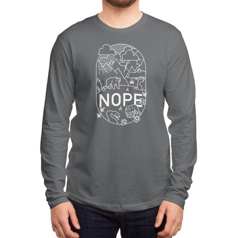 NOPE - Ivan Rodero Men's Longsleeve T-Shirt by Threadless Artist Shop