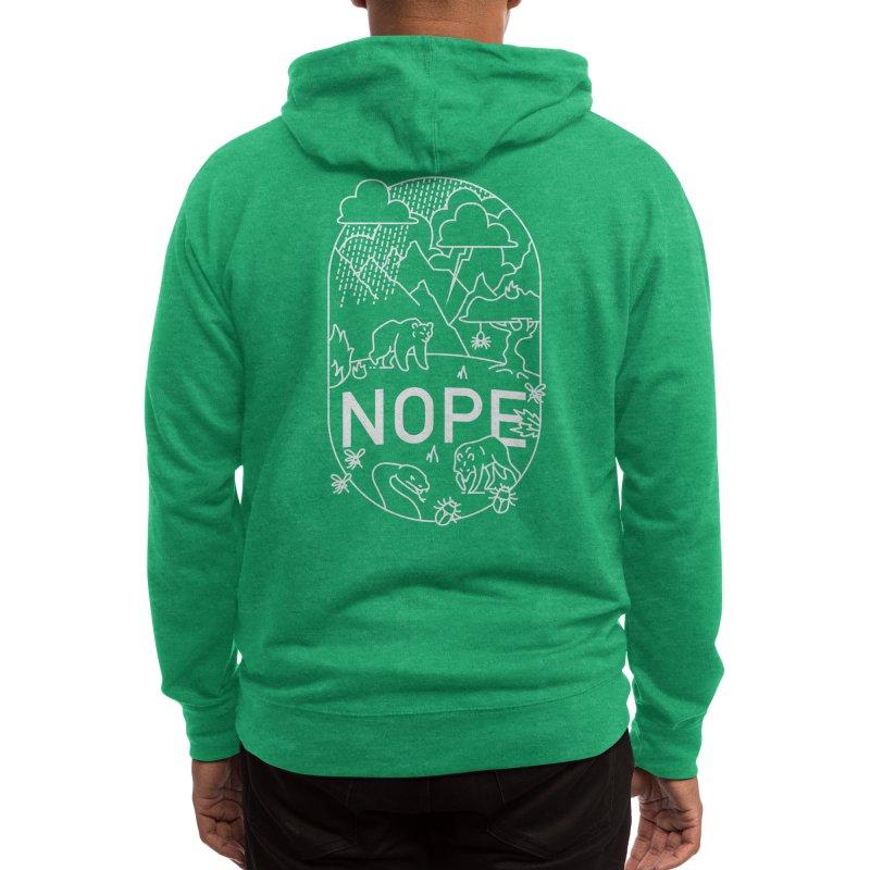 NOPE - Ivan Rodero Men's Zip-Up Hoody by Threadless Artist Shop