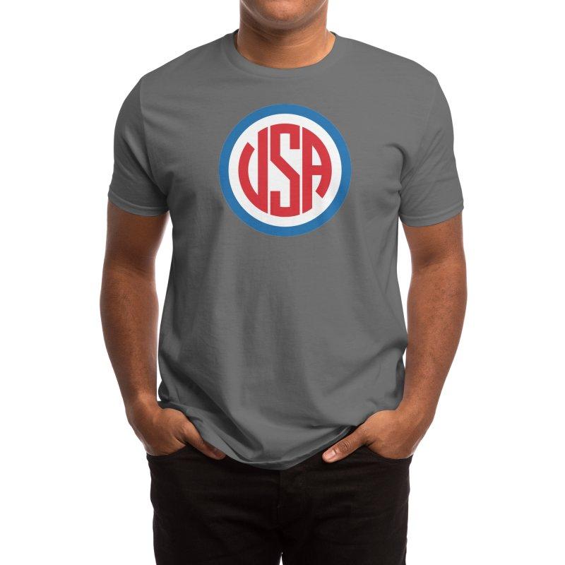 USA - Scott Fuller Men's T-Shirt by Threadless Artist Shop