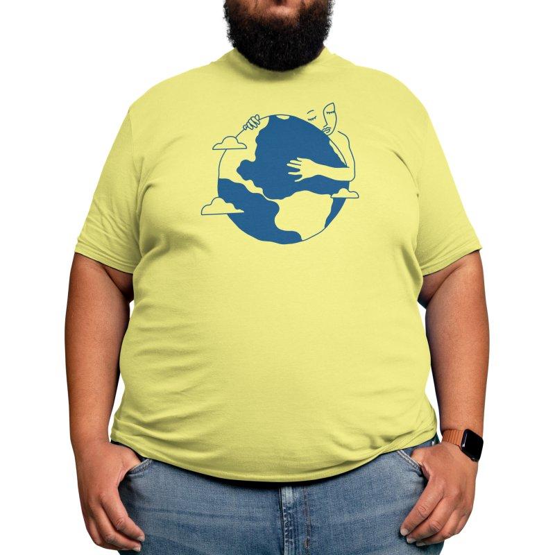 Blue Dot Men's T-Shirt by Threadless Artist Shop
