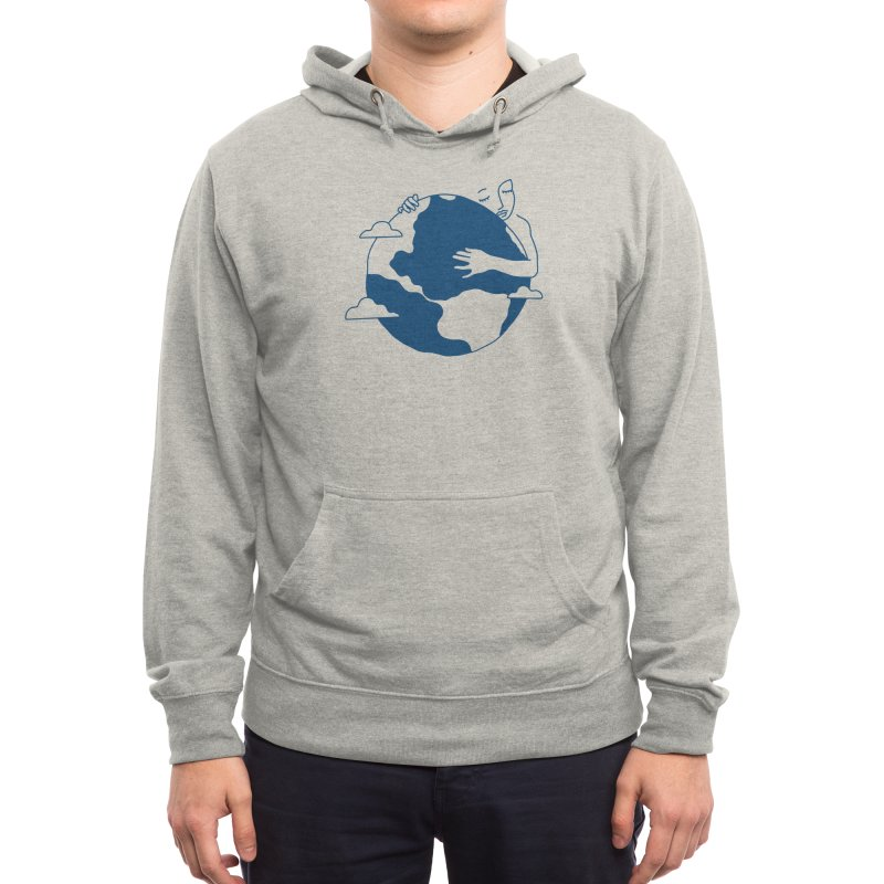 Blue Dot Men's Pullover Hoody by Threadless Artist Shop