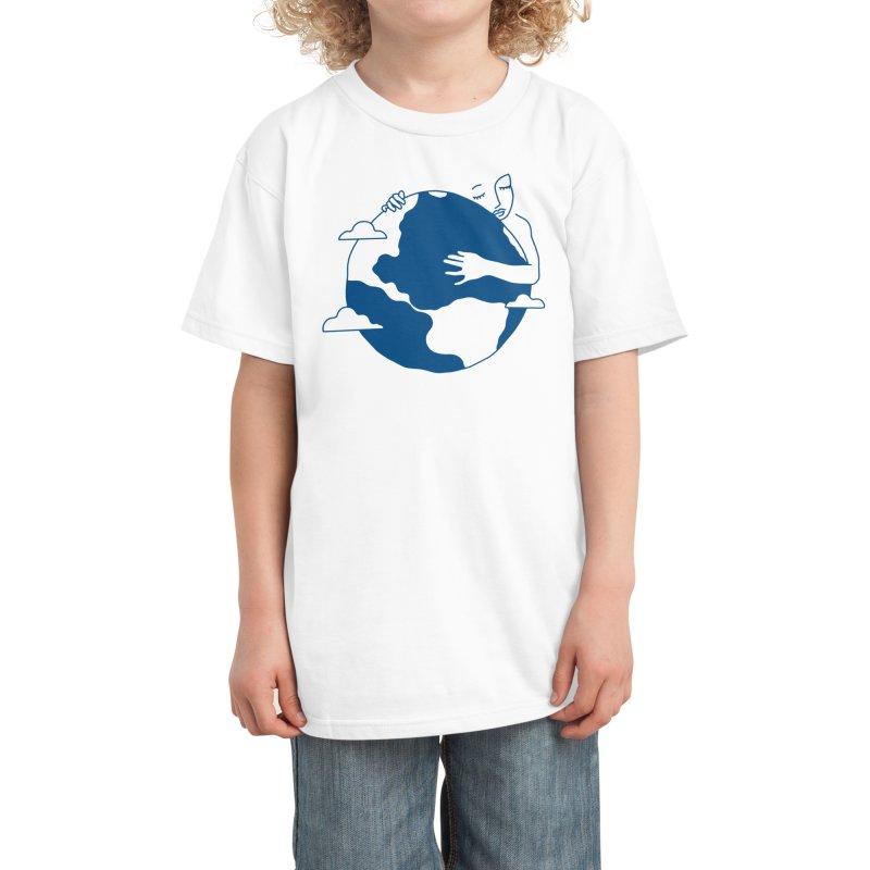 Blue Dot Kids T-Shirt by Threadless Artist Shop