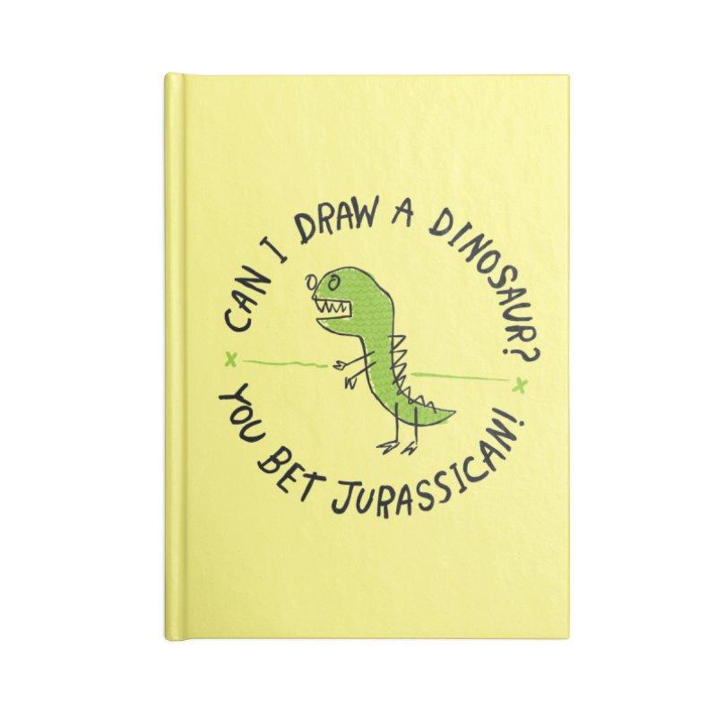 Jurassican! Accessories Notebook by Threadless Artist Shop