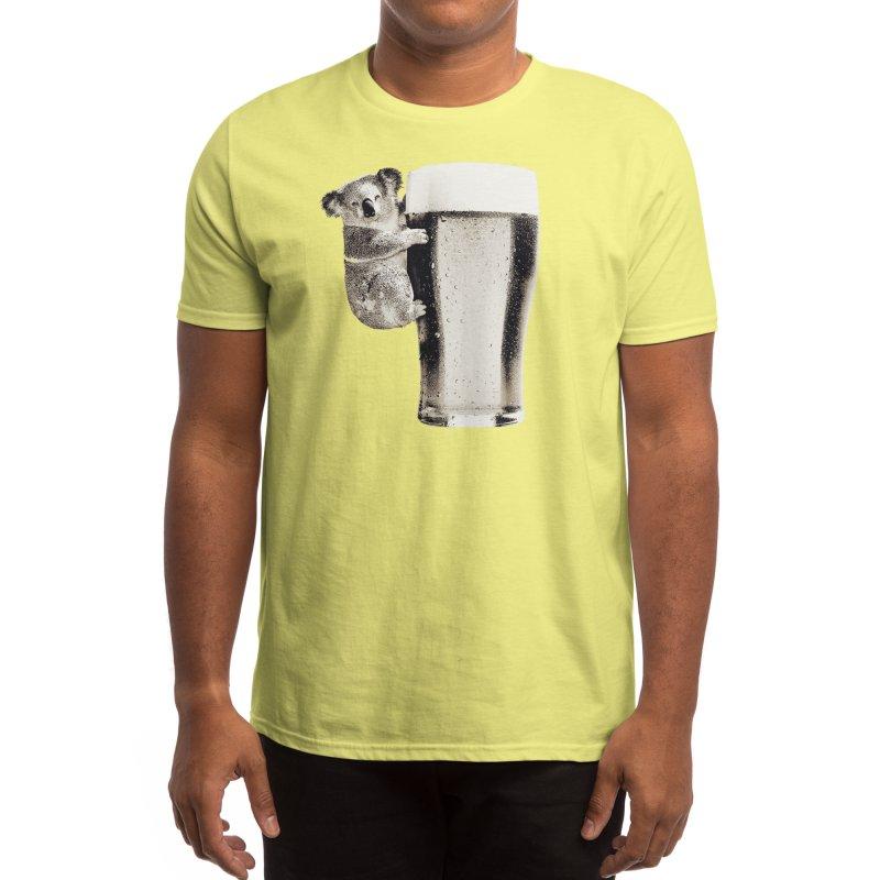 Koala Loves Beer Men's T-Shirt by Threadless Artist Shop