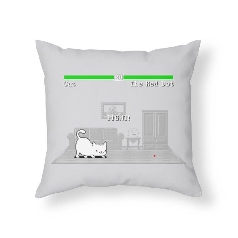 Final Boss - Jakub Gruber Home Throw Pillow by Threadless Artist Shop