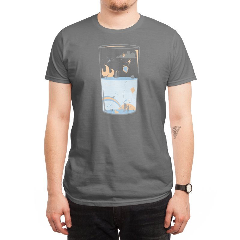 Pessimistic or Optimistic? Men's T-Shirt by Threadless Artist Shop