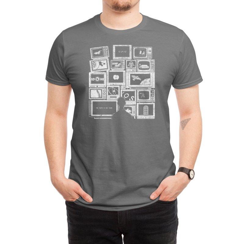 TV Addict Men's T-Shirt by Threadless Artist Shop