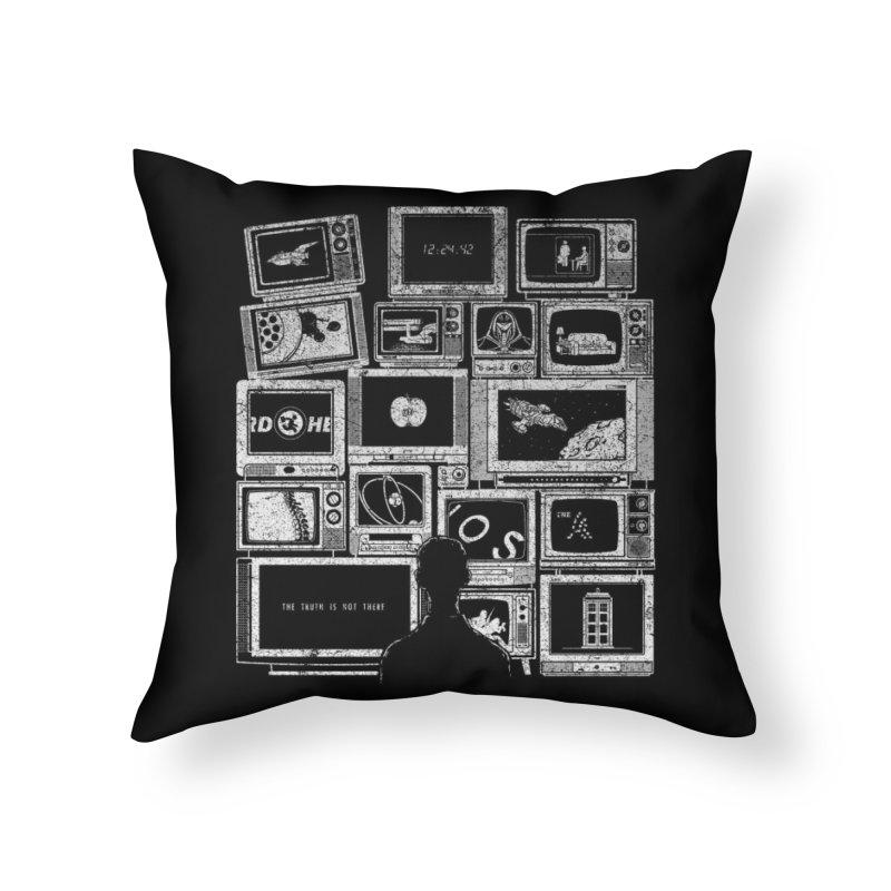 TV Addict Home Throw Pillow by Threadless Artist Shop