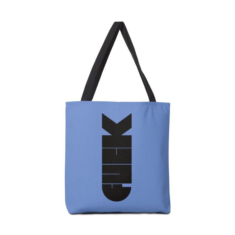 F-Bomb Accessories Bag by Threadless Artist Shop