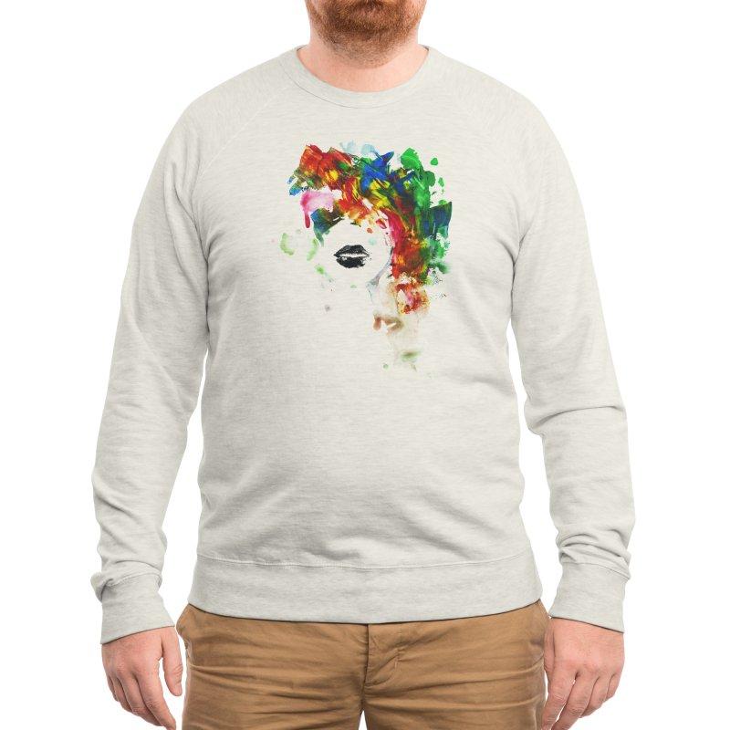BLACK LIPS Men's Sweatshirt by Threadless Artist Shop