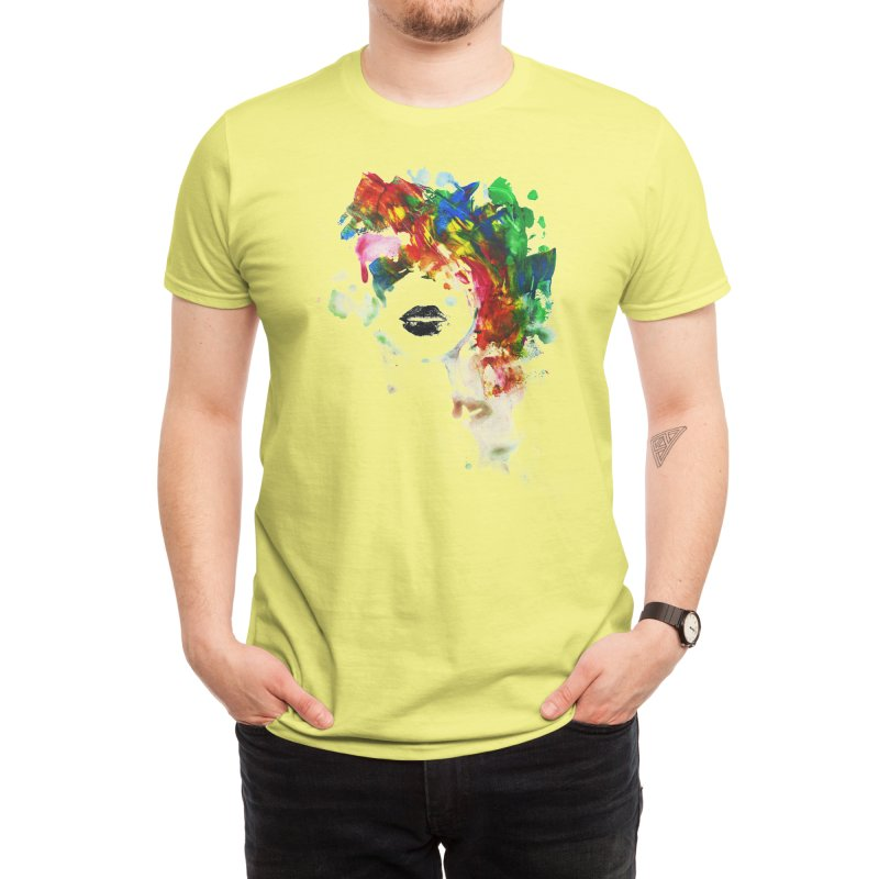 BLACK LIPS Men's T-Shirt by Threadless Artist Shop