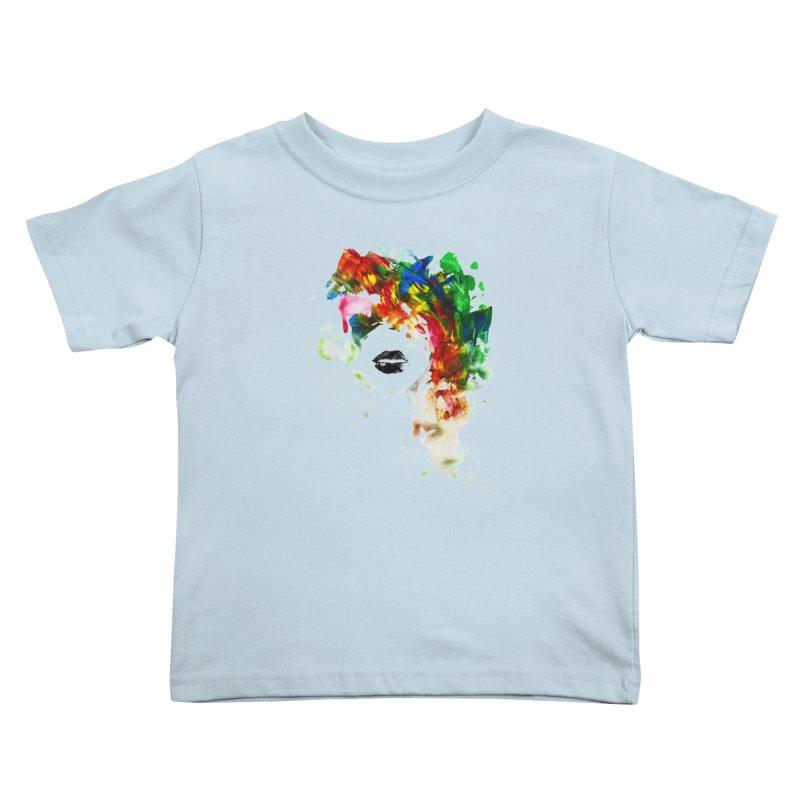 BLACK LIPS Kids Toddler T-Shirt by Threadless Artist Shop